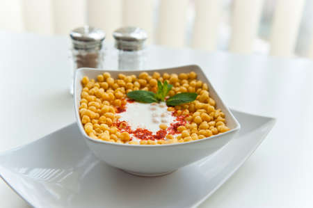 indian food: Curd Dish in North Indian Style