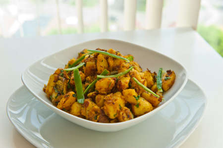 Hot and spicy jeera aloo