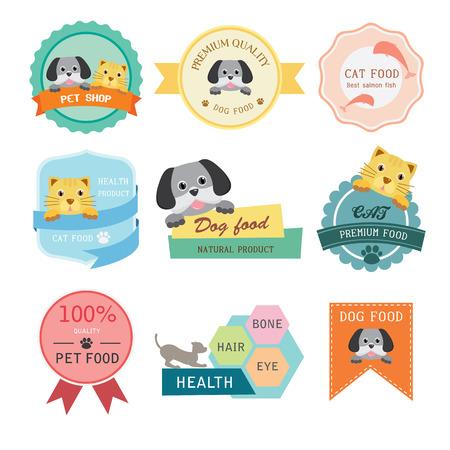 pet shop: Pet shop label