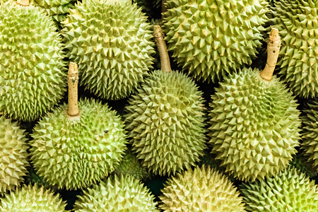 full frame of durian