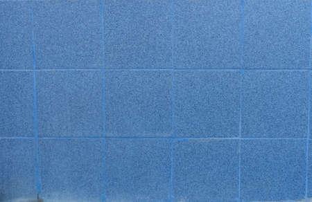 Blue tiles texture background 版權商用圖片