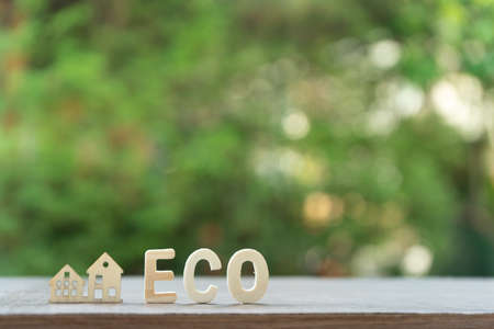 home eco tex with green background