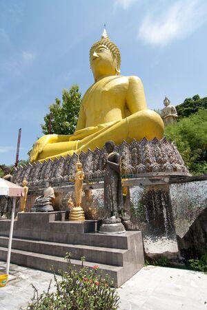 budda: Budda in Sri-Chang Island Stock Photo