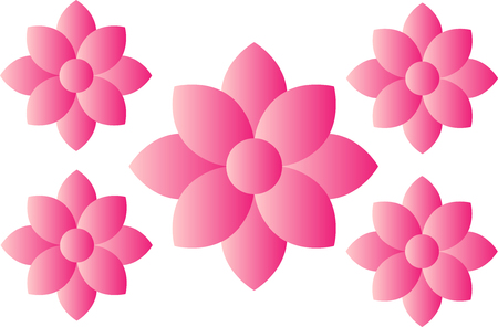 Pink flower icon concept royalty free cliparts vectors and stock pink flower icon concept stock vector 84960669 mightylinksfo