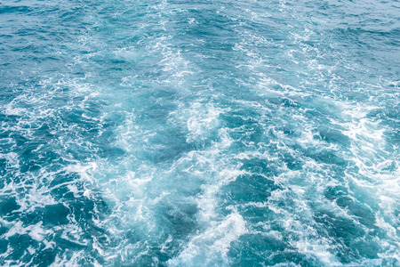 Blue sea waves abstract background