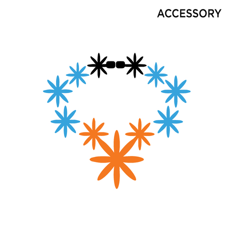 Accessory Icon On White Background Ilustrace