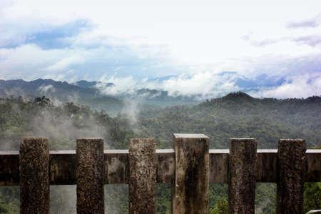 valley view: Bella vista valle dalla montagna