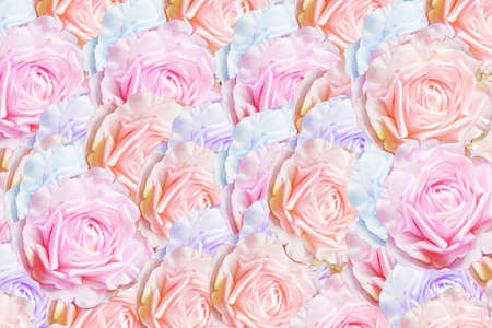 artificial rose background  photo