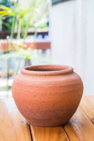 earthenware: earthenware for home decoration Stock Photo