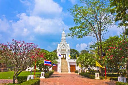 New city shrine of Ayutthaya , Thailand photo