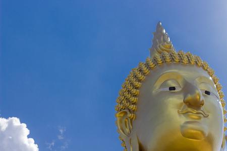 cabeza de buda: Cabeza de Buda en Tailandia Foto de archivo