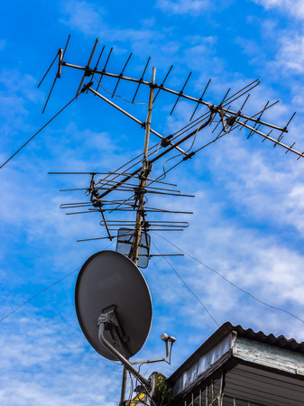 exotics: Satellite TV Antenna together exotics technology is very different, but compatible.