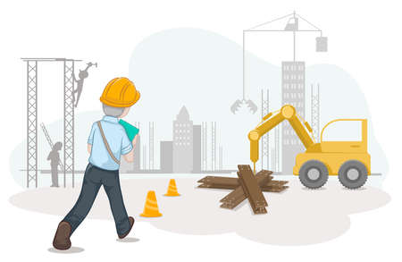 Vector worker and labour for Labour Day., Labour Day background , illustration