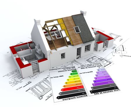 3D home drawing house designing home rendering home with roof roof