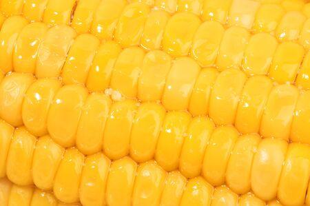 yellow corn harvest close close Banque d'images