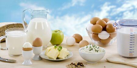 dairy food cooking egg cheese milk apple .