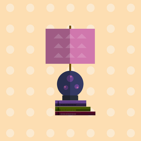 lampshade: Icon of flat Lamps. Modern flat lampshade. Lamp icons for interior. Isolated vector lamp. Light lamp equipmants. Interior elements. Vector flat lampshade. Isplated lamp shades icons