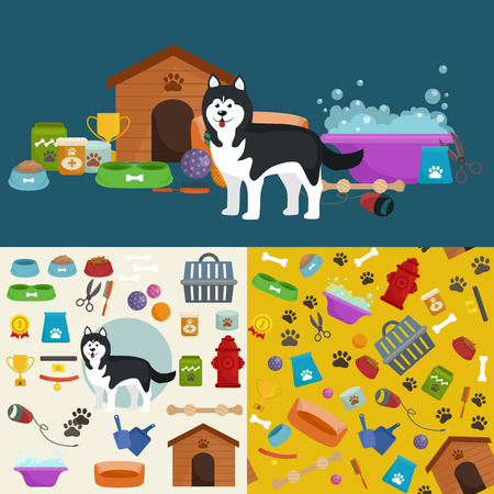 pawprint: Pet shop, dog goods and supplies, store products for dog care