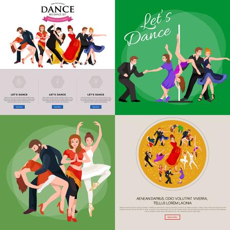 belly dancer: Dancing People, Dancer Bachata, Hiphop, Salsa, Indian, Ballet, Strip, Rock and Roll, Break, Flamenco, Tango, Contemporary, Belly Dance Pictogram Icon Dancing style of design concept set vector illustration set