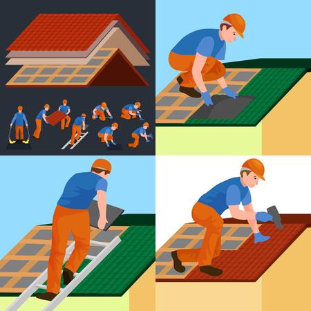 Dakwerkers reparatie