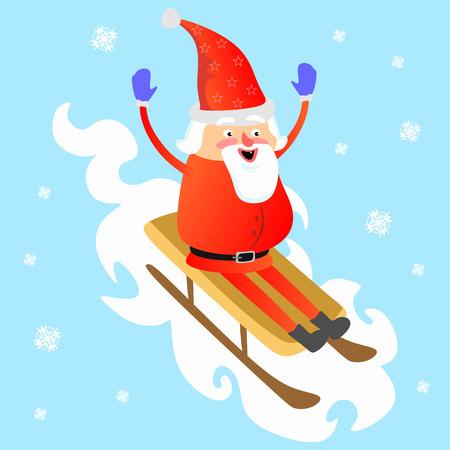 Santa Claus icon. Imagens - 91385548