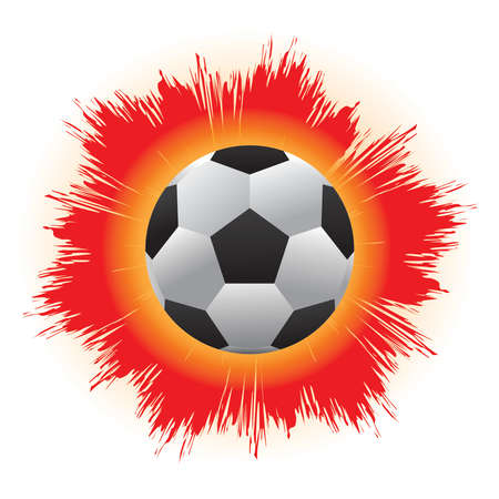occurred: A ball that is kicked Antoine to strong until the fire occurred.