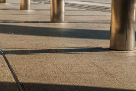 Bangkok sidewalk, walkway to BTS, suitable for background images Imagens - 119595773