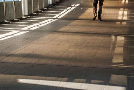Bangkok sidewalk, walkway to BTS, suitable for background images Imagens - 119595778