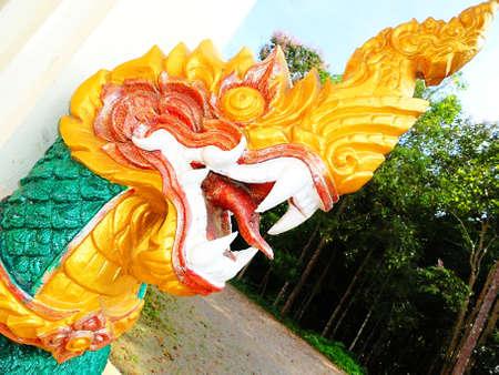 presumption: King of Naga Statue