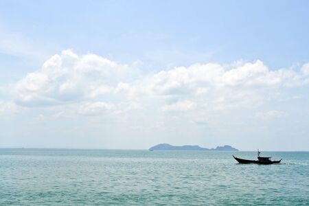 Ships in the sea of Thailand