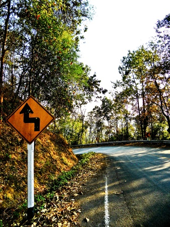 the road in thailand Stock Photo - 9594176