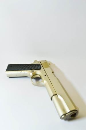 semi automatic: gun