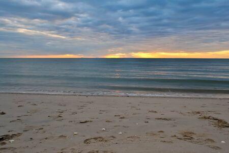 Sunset in sea thailand