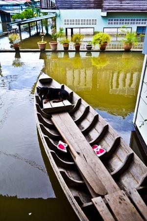 thailand flooding  Stock Photo - 11078904