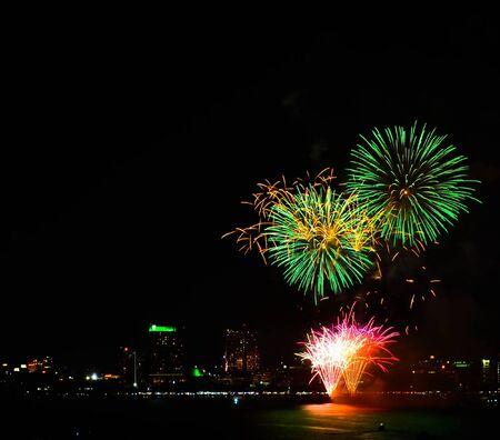 pattaya Fireworks  of thailand