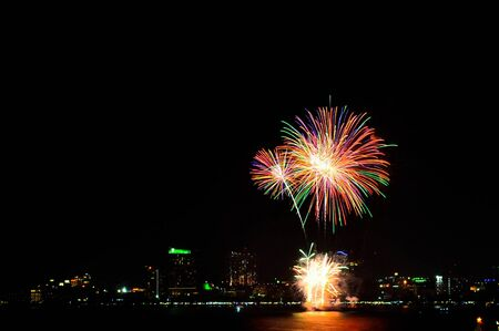 pattaya Fireworks  of thailand