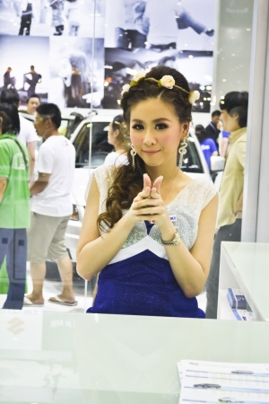 Thailand international Motor Expo 2012  in bangkok of  thailand