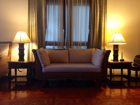 cotton fabric: sofa