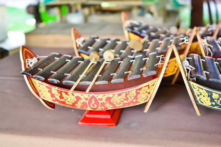 Children xylophone Thailand style Stock Photo