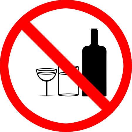 No drinking symbol. photo
