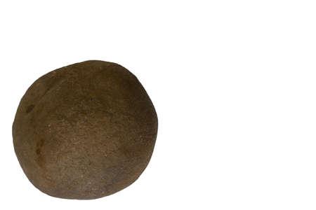 xwhite: Stones on a white background Stock Photo