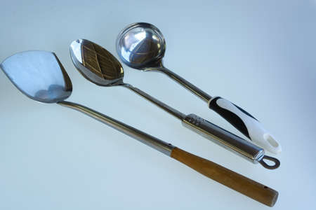 daily use item: used kitchen utensils