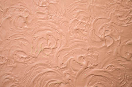 Studio texture of decorative plaster with an interesting pattern