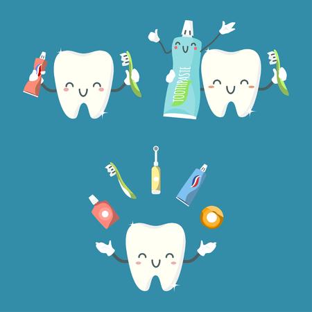Cute teeth design.