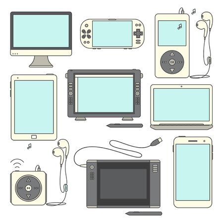 Gadget Icons.