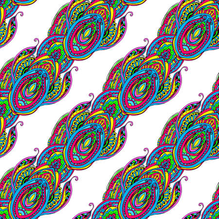 Ethnic perfect graphical ornament pattern. Geometrical texture made in vector. Unique background for invitations, cards, websites any other kind of design, birthday. Vector