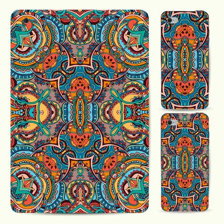 model motive: Hand drawn greeting card ornament illustration concept. Lace pattern design. Vector decorative banner of card or invitation design Vintage traditional, Islam, arabic, indian, ottoman motifs, elements. Illustration