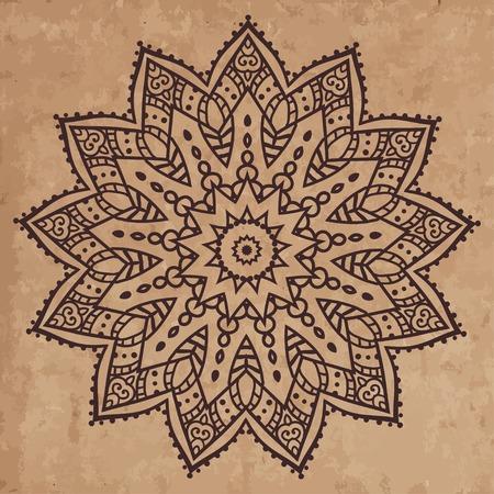 손으로 그린 인사말 카드 장식 그림 개념. 레이스 패턴 디자인. 카드 또는 초대장 디자인 빈티지 전통, 이슬람, 아랍어, 인도, 오스만 모티브, 요소