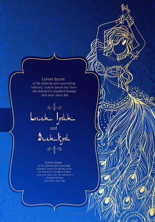 Vintage-Einladungskarten mit Spitzenverzierung. Eastern Blumen-Dekor. Template-Rahmen. Perfekte Karten für jede andere Art von Design, Geburtstag und andere Urlaub, kaleidoskop, Medaillon, yoga, indien, Arabisch