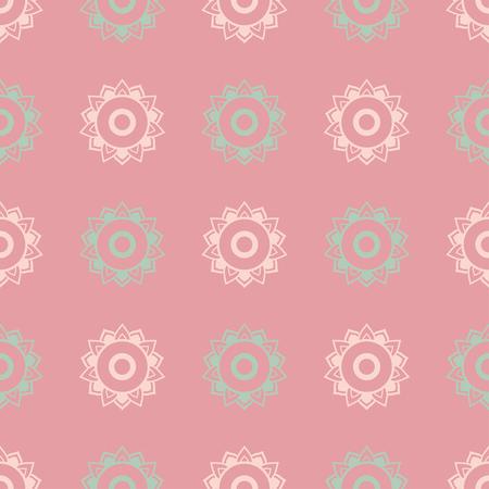 circle flower: Ornament invitation card with mandala. Geometric circle element made in vector. Mandala for decoration holiday cards, background and sites. Kaleidoscope, medallion, yoga, India, arabic Illustration